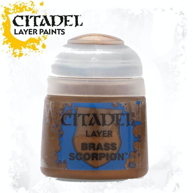 Citadel Citadel Paint - Layer: Brass Scorpion
