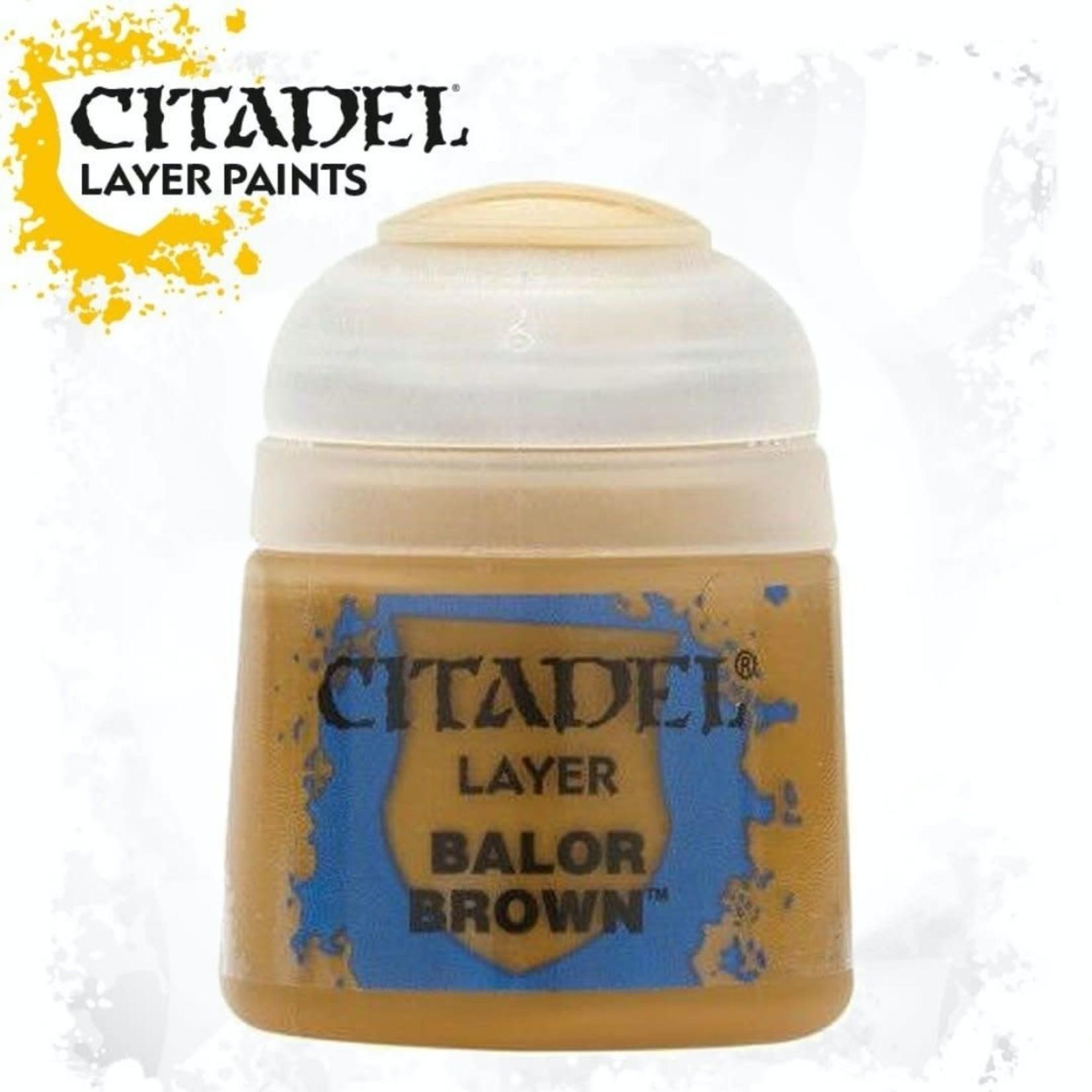 Citadel Citadel Paint - Layer: Balor Brown
