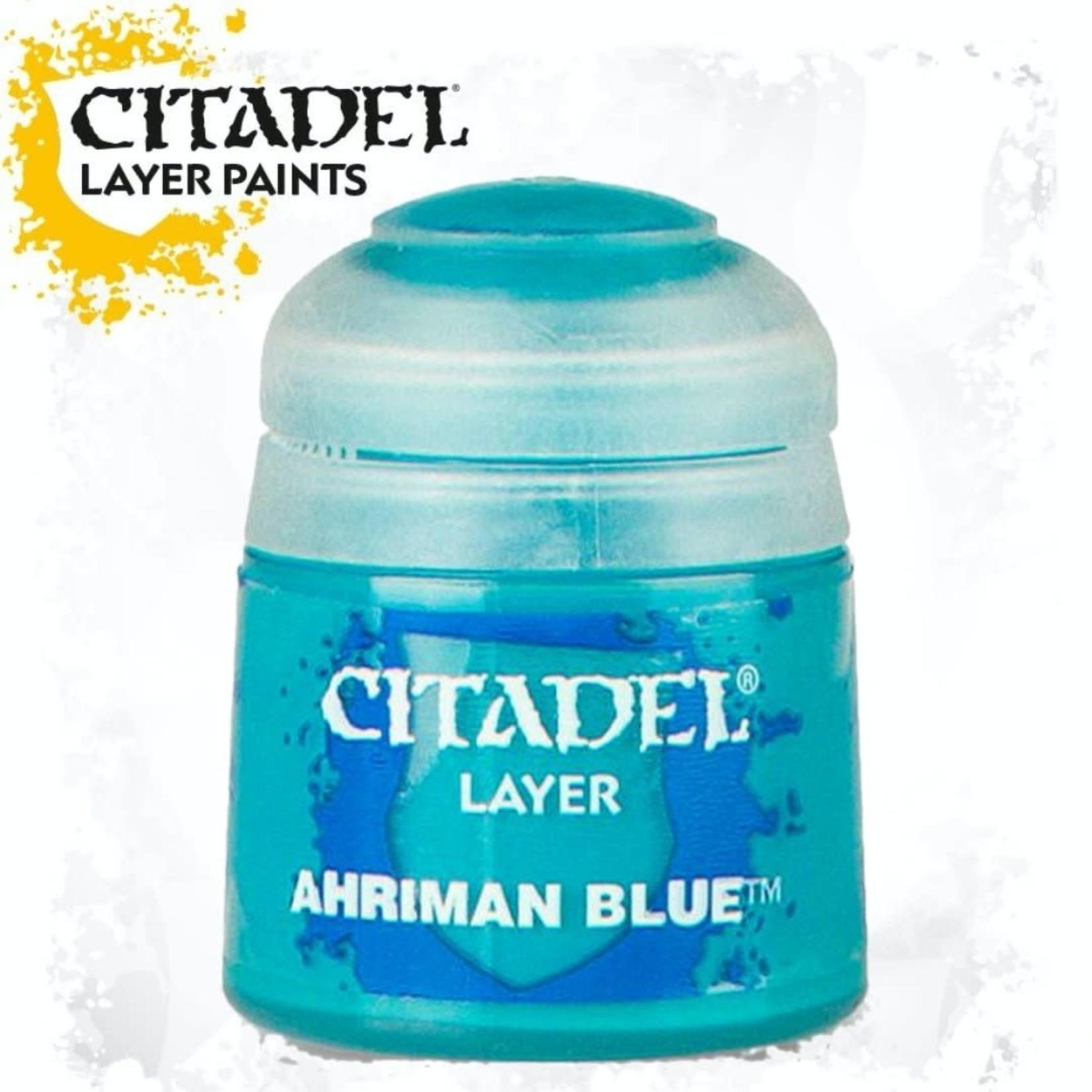 Citadel Citadel Paint - Layer: Ahriman Blue