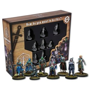 Steamforged Critical Role: Mighty Nein Miniatures