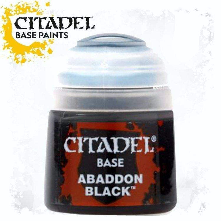 Citadel Citadel Paint - Base: Abaddon Black
