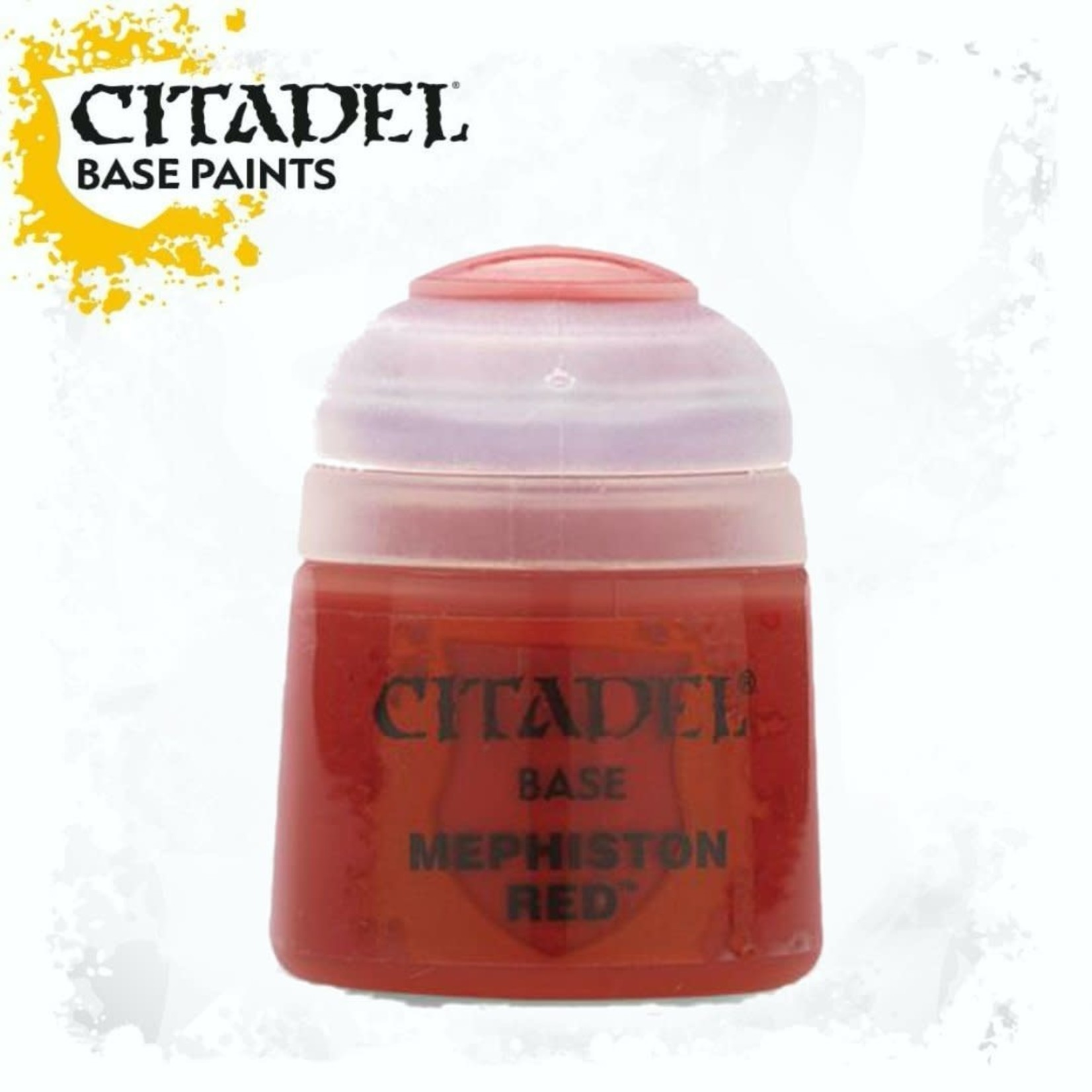 Citadel Citadel Paint - Base: Mephiston Red