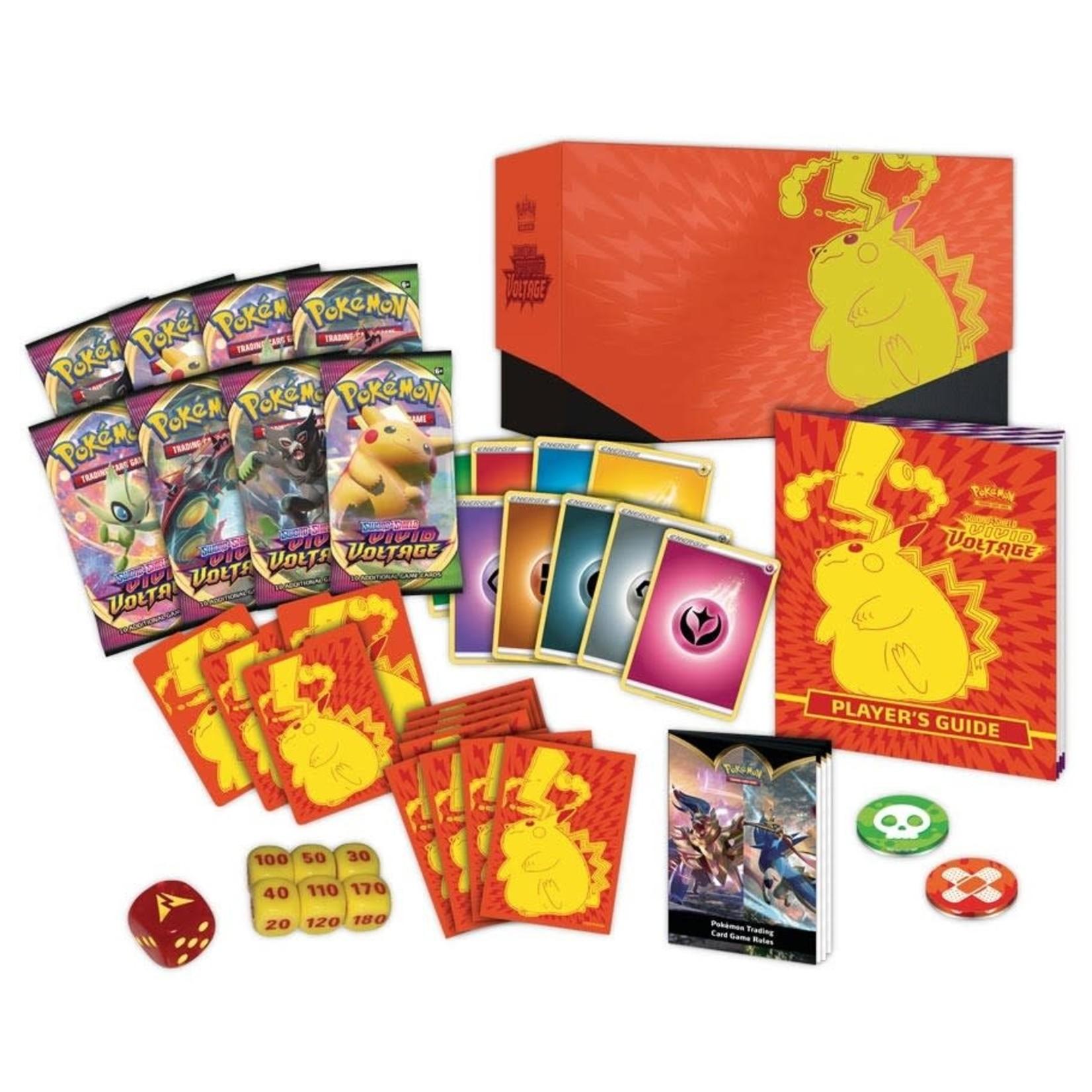Pokemon International Pokemon Trading Card Game: Vivid Voltage Elite Trainer Box