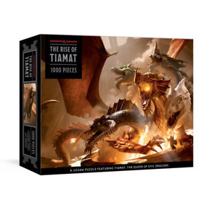 Penguin Random House Puzzle: Dungeons & Dragons Rise of Tiamat