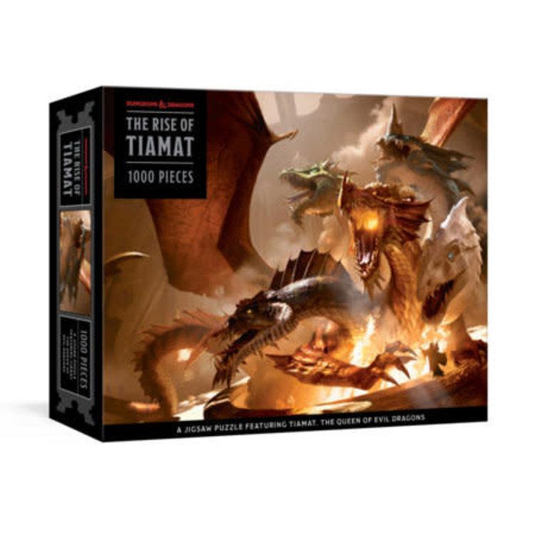 Penguin Random House Puzzle: Dungeons & Dragons Rise of Tiamat