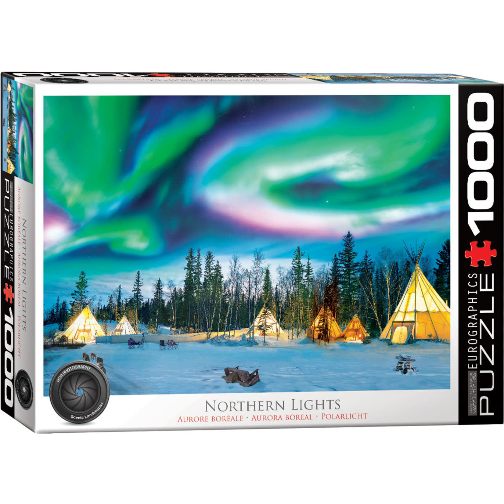 Eurographics Eurographics Puzzle: Northern Lights Yellowknife (1000 pieces)