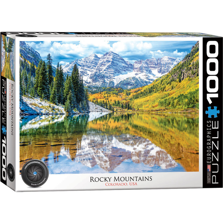 Eurographics Eurographics Puzzle: Rocky Mountains National Park  (1000 pieces)