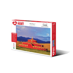 Hart Puzzles Hart Puzzles: Red Barn 1000pc