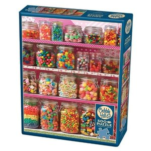Cobble Hill Cobble Hill Puzzle: Candy Shelf  - 500 Pc