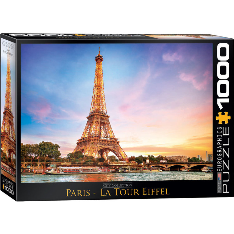 Eurographics Eurographics Puzzle: Paris La Tour Eiffel - 1000pc