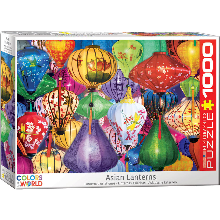 Eurographics Eurographics Puzzle: - Asian Lanterns 1000pc