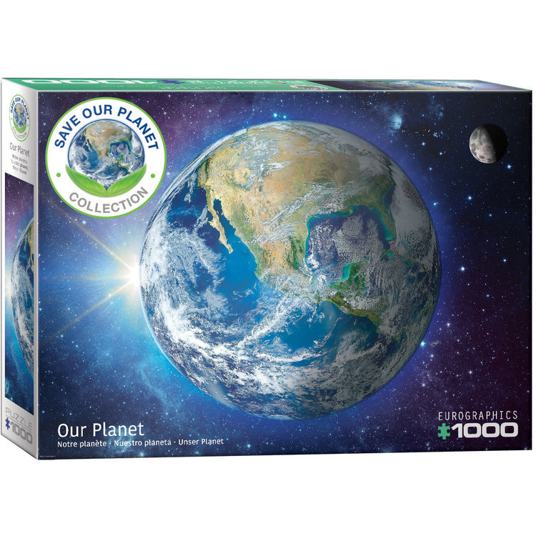 Eurographics Eurographics Puzzle: Our Planet - 1000pc