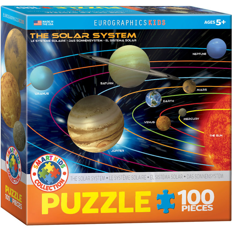 Eurographics Eurographics Puzzle: The Solar System - 100pc