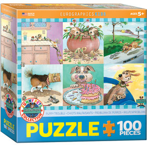 Eurographics Eurographics Puzzle: Puppy Trouble - 100pc