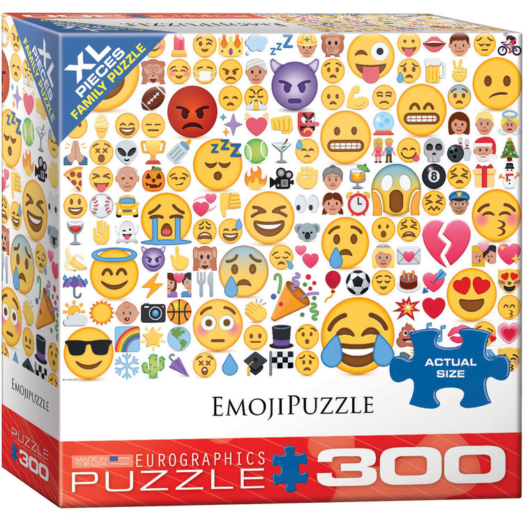 Eurographics Eurographics Puzzle: Emoji What's your Mood? - 300pc