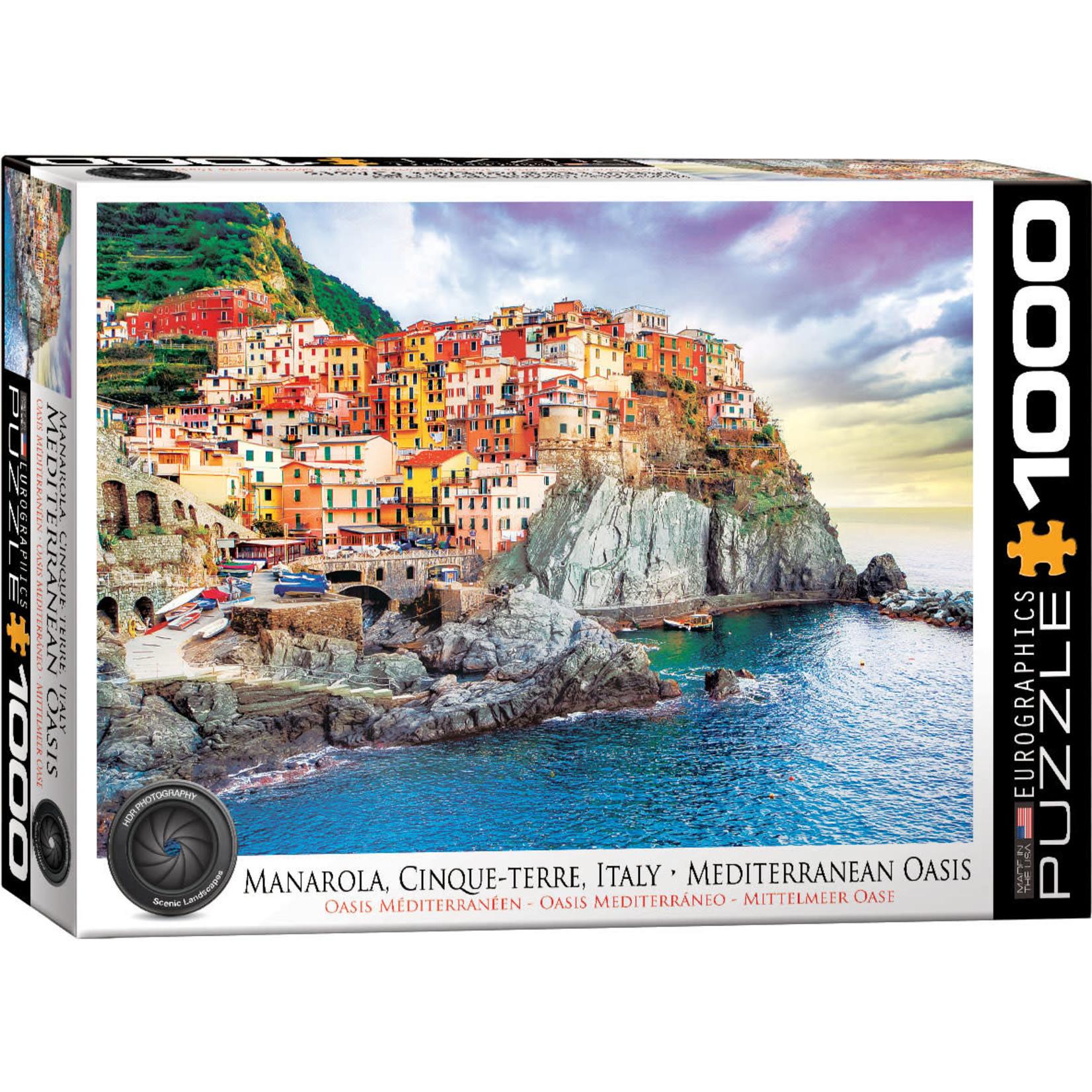 Eurographics Eurographics Puzzle: Manarola Cinque Terre Italy - 1000pc