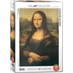 Eurographics Eurographics Puzzle: Mona Lisa by da Vinci - 1000pc