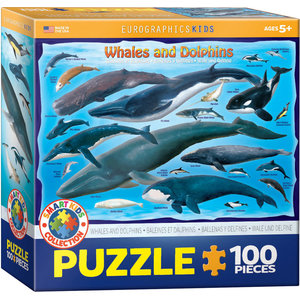 Eurographics Eurographics Puzzle: Whales and Dolphins - 100pc