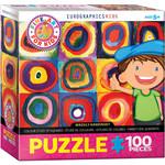 Eurographics Eurographics Puzzle: Colour Study of Squares - 100pc
