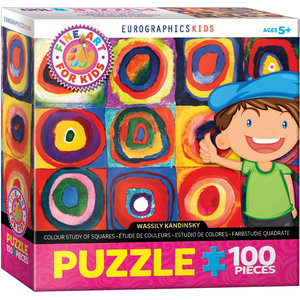 Eurographics Eurographics Puzzle: Colour Study of Squares - 100pc