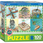 Eurographics Eurographics Puzzle: Kitten Trouble - 100pc