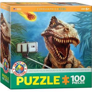 Eurographics Eurographics Puzzle: Dinosaur Selfie - 100pc