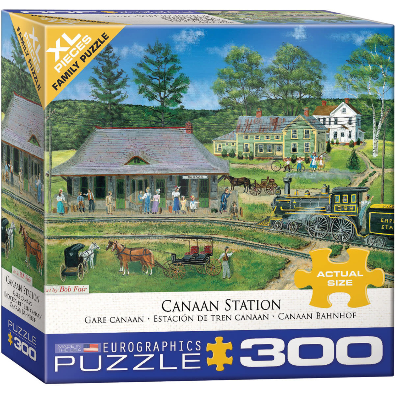 Eurographics Eurographics Puzzle: Canaan Station - 300pc