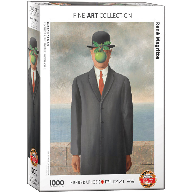Eurographics Eurographics Puzzle: Son of Man by Rene Magritte - 1000pc