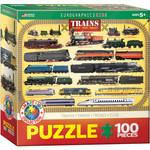 Eurographics Eurographics Puzzle: Trains - 100pc