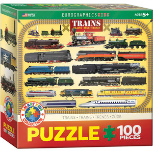 Eurographics Eurographics Puzzle: Trains - 100pc