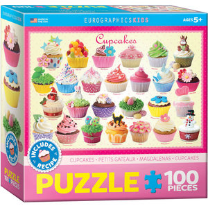Eurographics Eurographics Puzzle: Cupcakes - 100pc