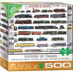 Eurographics Eurographics Puzzle: History of Trains - 500pc