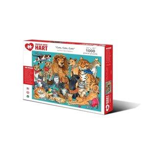 Hart Puzzles Hart Puzzles: Cats 1000pc
