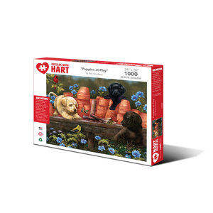 Hart Puzzles Hart Puzzles: Puppies at Play 1000pc