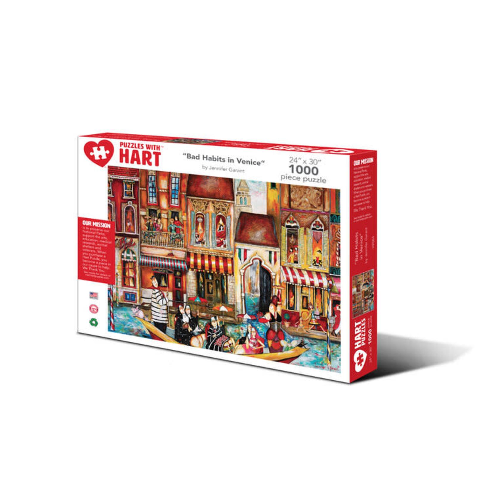 Hart Puzzles Hart Puzzles: Bad Habits in Venice 1000pc