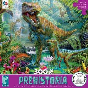 ceaco Ceaco - 300 Piece Puzzle: Prehistoria - Dino Jungle