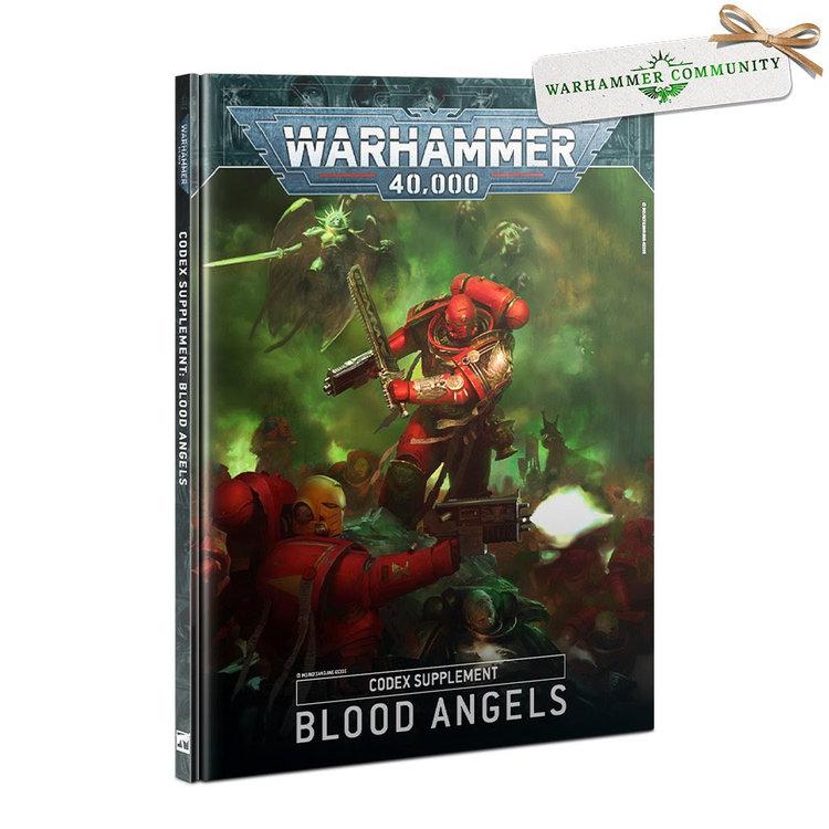 Games Workshop Warhammer 40k: Blood Angels - Codex Supplement