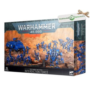 Games Workshop Warhammer 40k: Space Marines Battleforce - Interdiction Force
