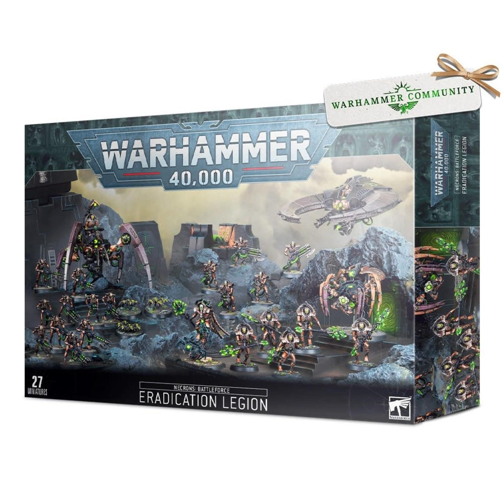 Games Workshop Warhammer 40k: Necrons Battleforce - Eradication Legion