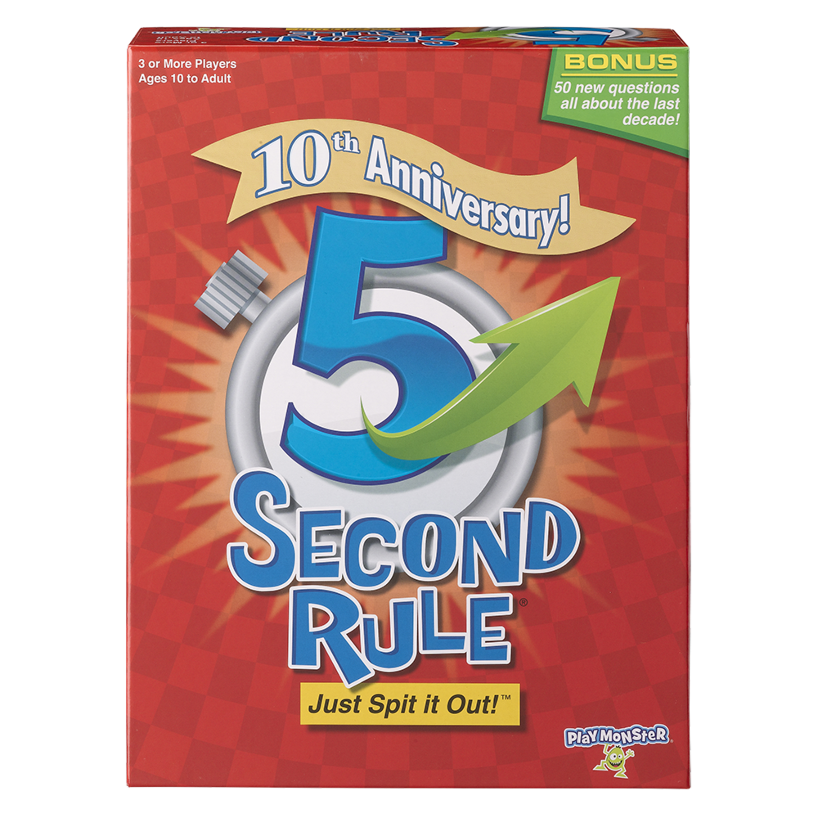 Playmonster 5 Second Rule Anniversary Edition