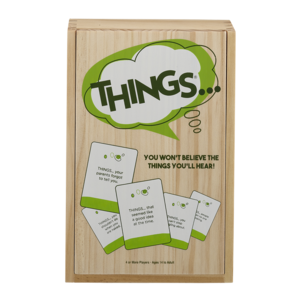 Playmonster Things (Wood Box)