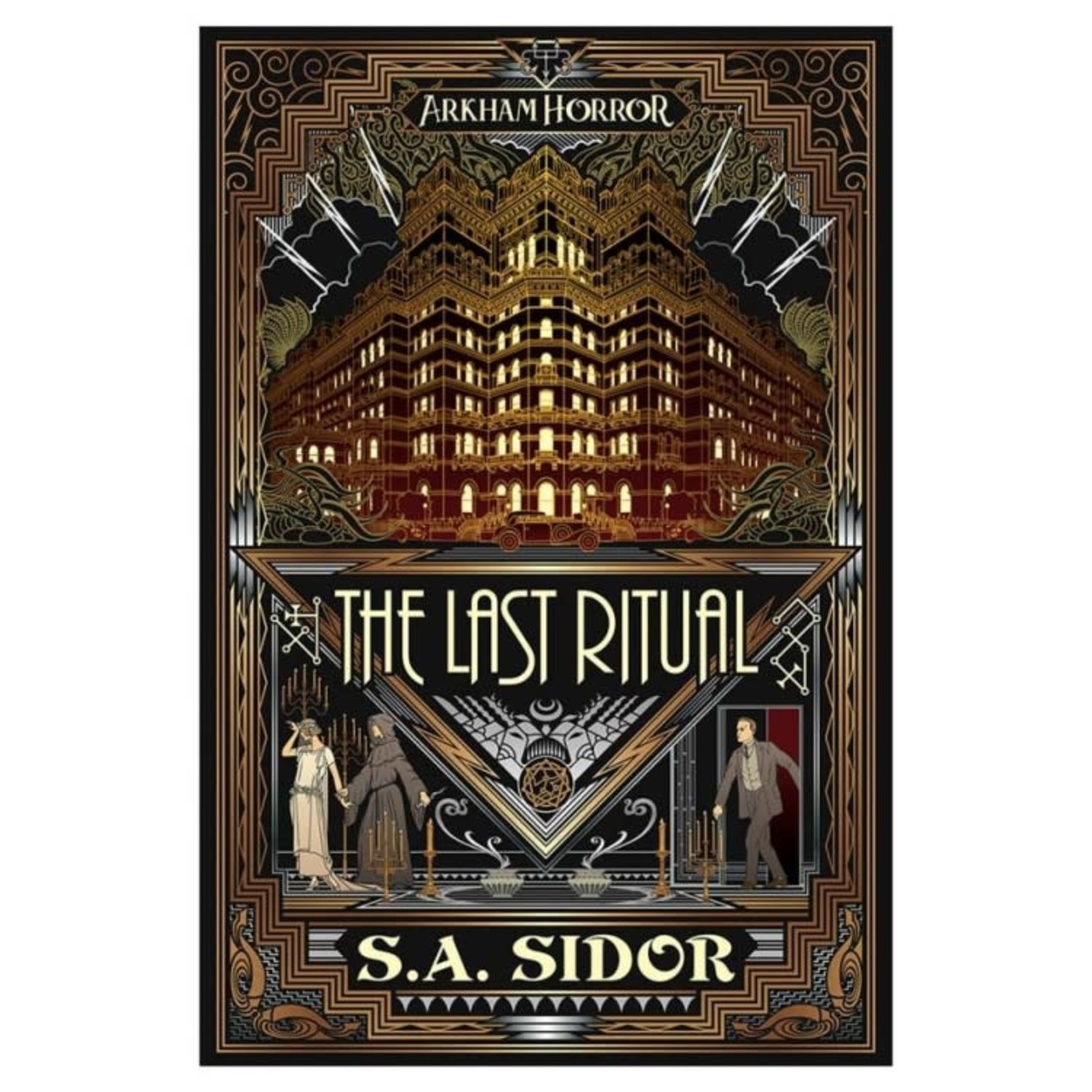 Fantasy Flight Games Arkham Horror: The Last Ritual (Novel)
