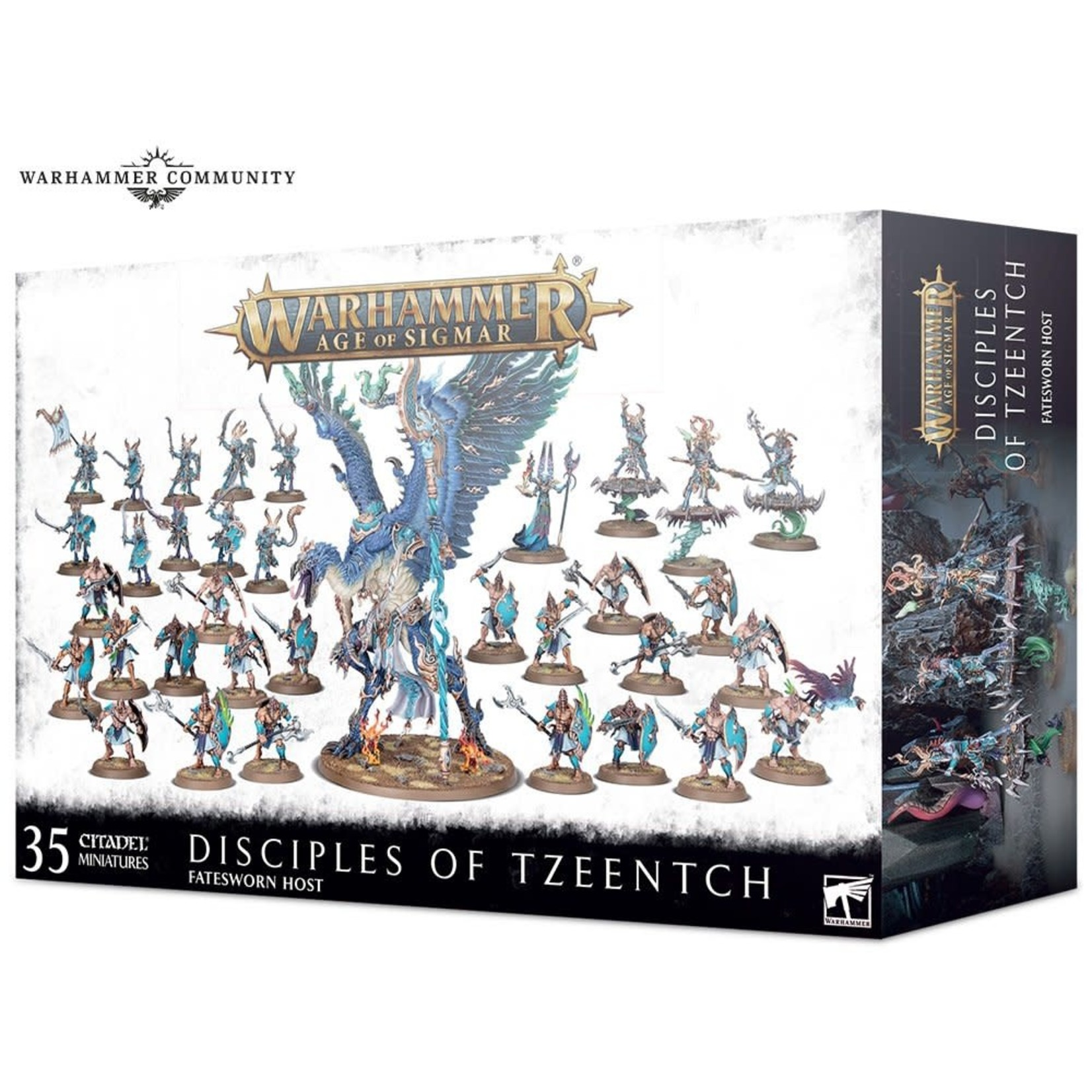 Games Workshop Warhammer Age of Sigmar: Disciples of Tzeentch Battleforce - Fatesworn Host