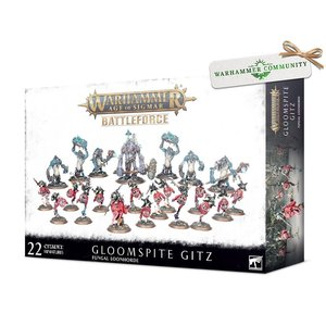 Games Workshop Warhammer Age of Sigmar: Gloomspite Gitz Battleforce - Fungal Loonhorde