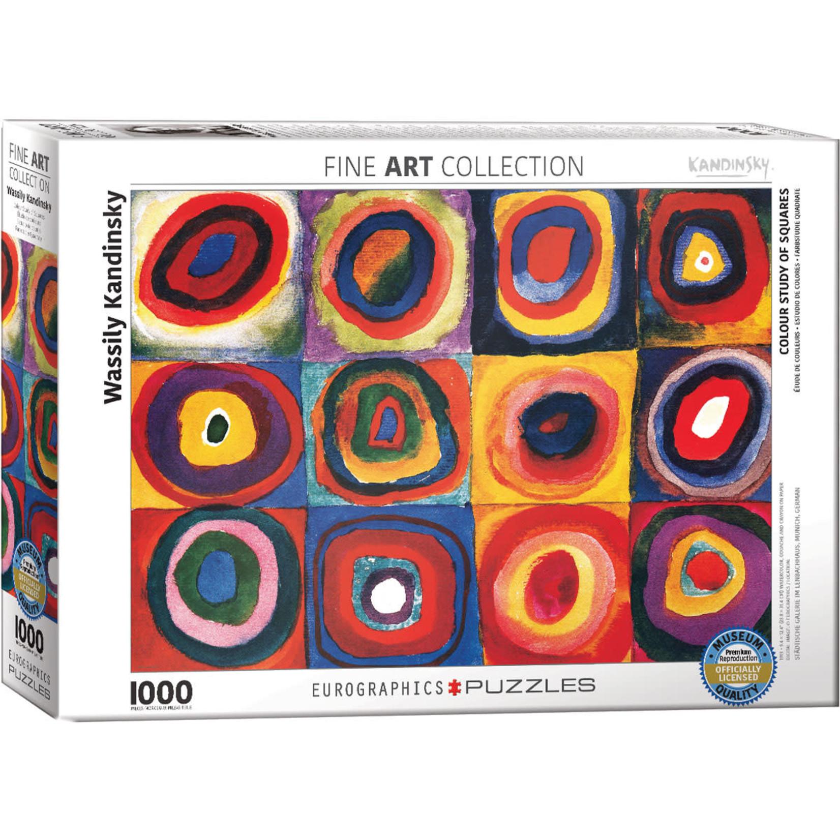 Eurographics Eurographics Puzzle: Colour Study of Squares - 1000pc