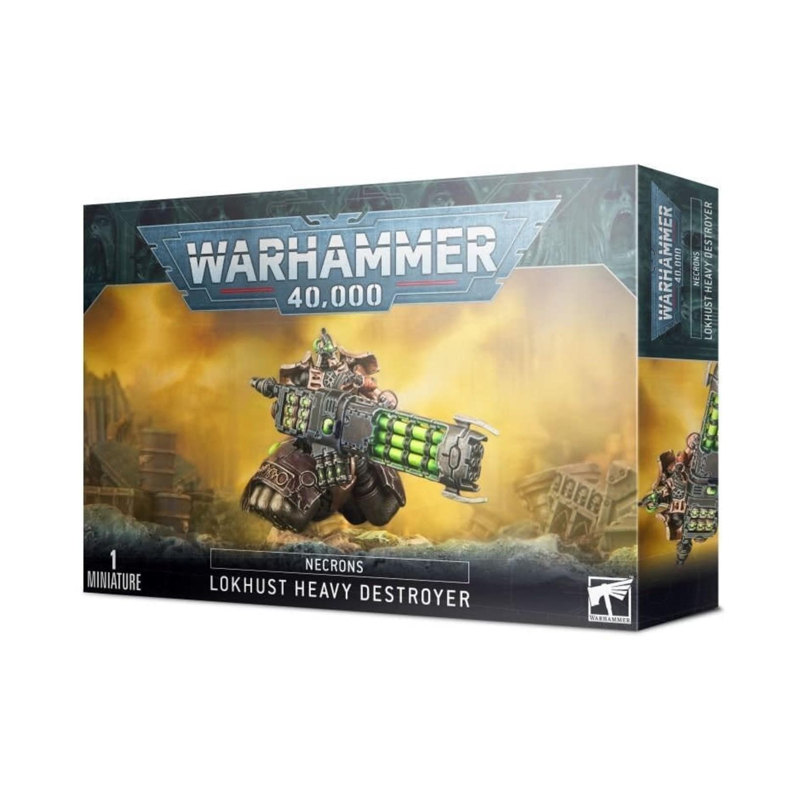 Games Workshop Warhammer 40k: Necrons - Lokhust Heavy Destroyer