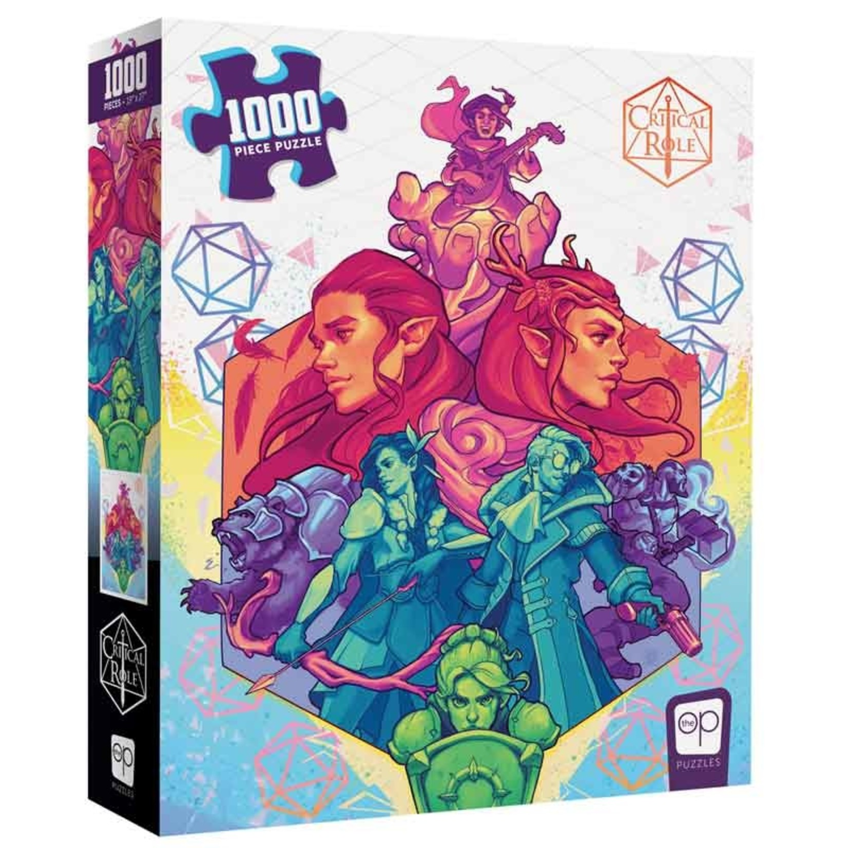 """USAoploy The OP - 1000 Piece Puzzle: Critical Role """"Vox Machina"""""""
