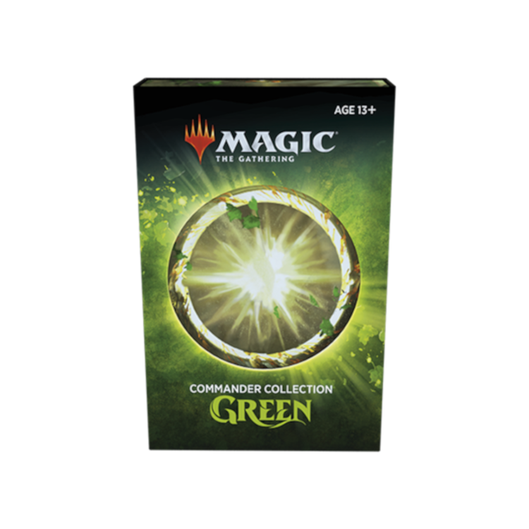 Wizards of the Coast Magic the Gathering: Commander Collection - Green