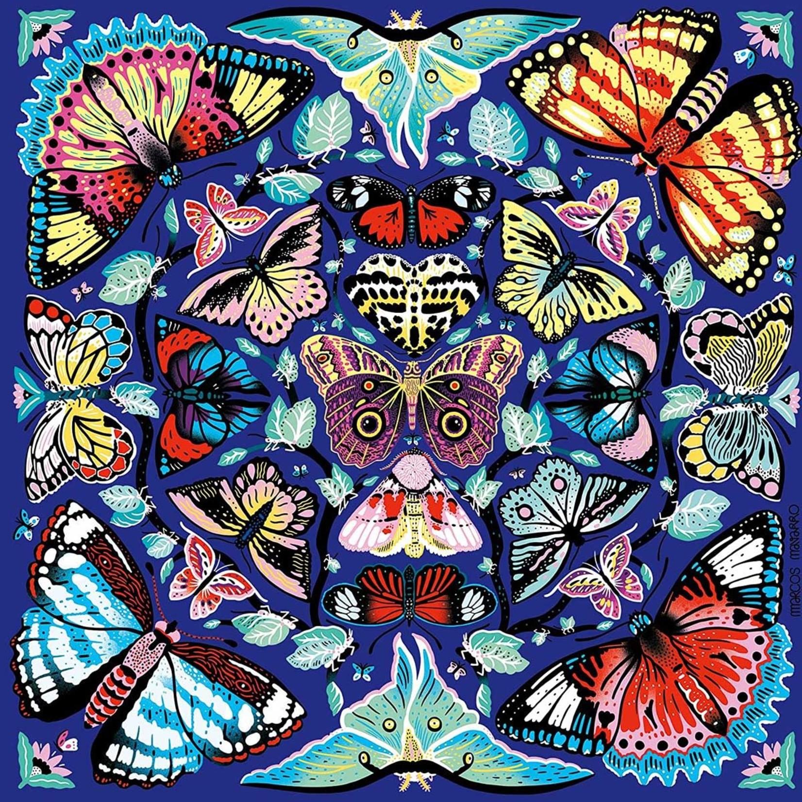 Chronicle Books Mudpuppy Puzzle: Kaleido Butterflies 500 pc