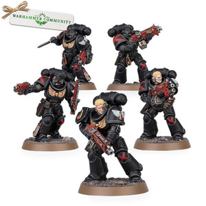 Games Workshop Warhammer 40k: Space Marines Blood Angels - Death Company Intercessors